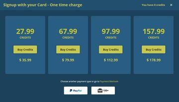 LivePrivates Credit Package Costs