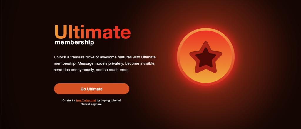 Stripchat Ultimate Membership